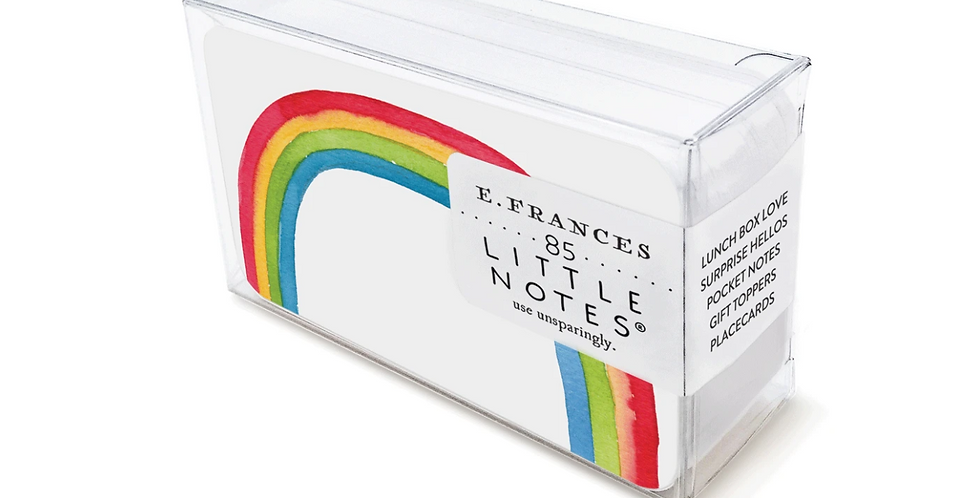 Rainbow Little Notes