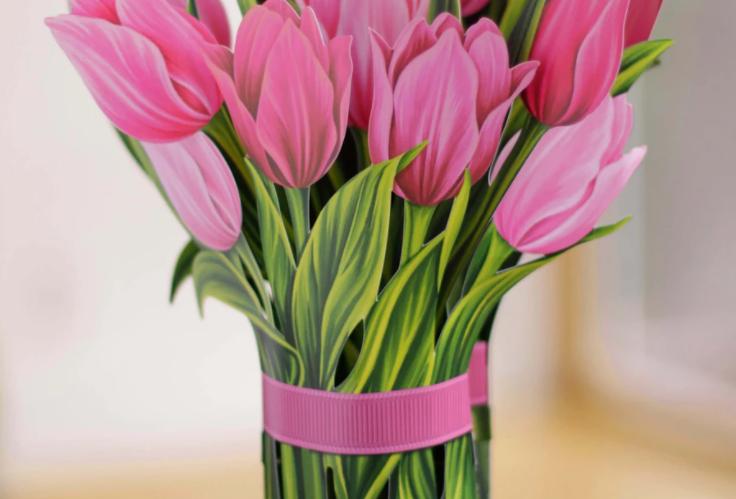 FreshCut Pink Tulips Bouquet