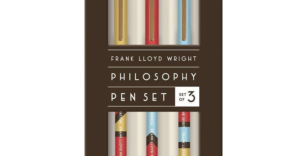 Frank Llyod Wright Philosophy Pen Set