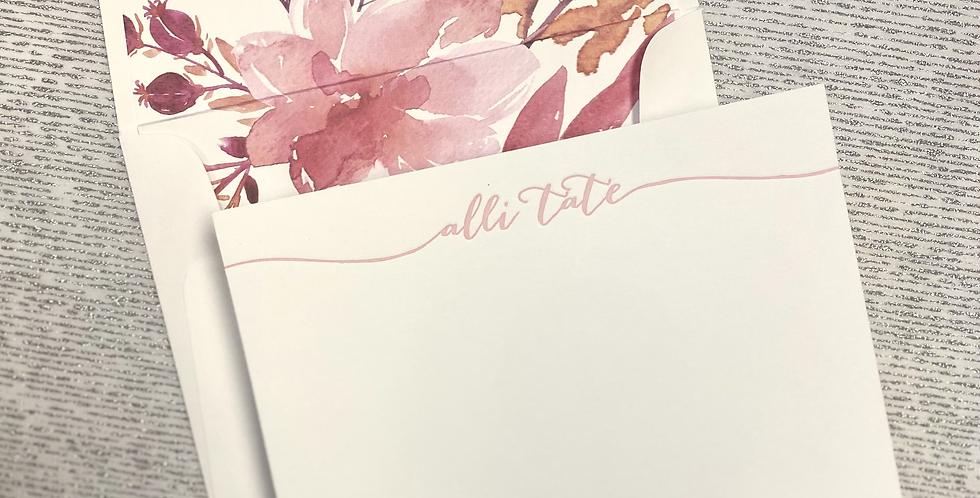Tate Letterpress Stationery Set