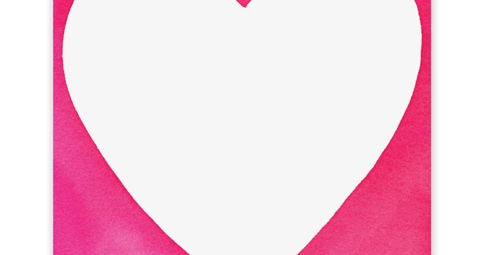 Chubby Heart Notepad