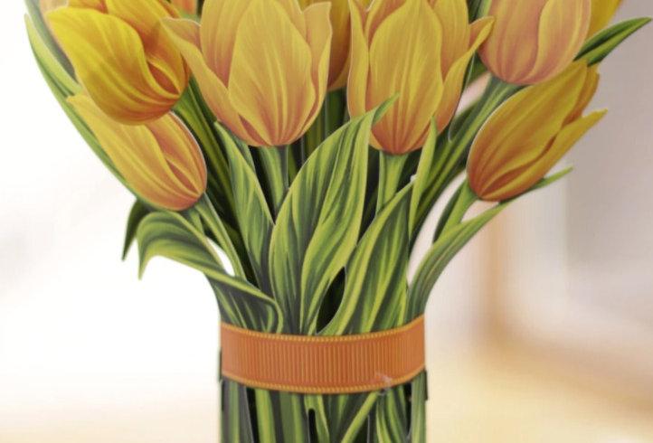 FreshCut Yellow Tulips Bouquet