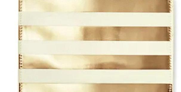 Kate Spade Gold Stripe Pencil Case
