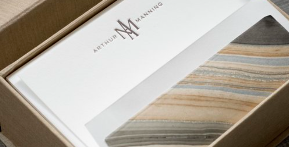 Manning Letterpress Stationery Set