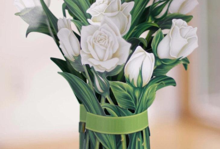 FreshCut White Roses Bouquet