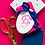 Thumbnail: Celia Reid Oval Gift Tag