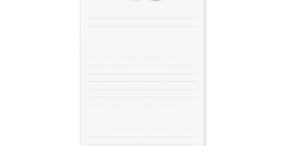 Milk & Bread Market Notepad