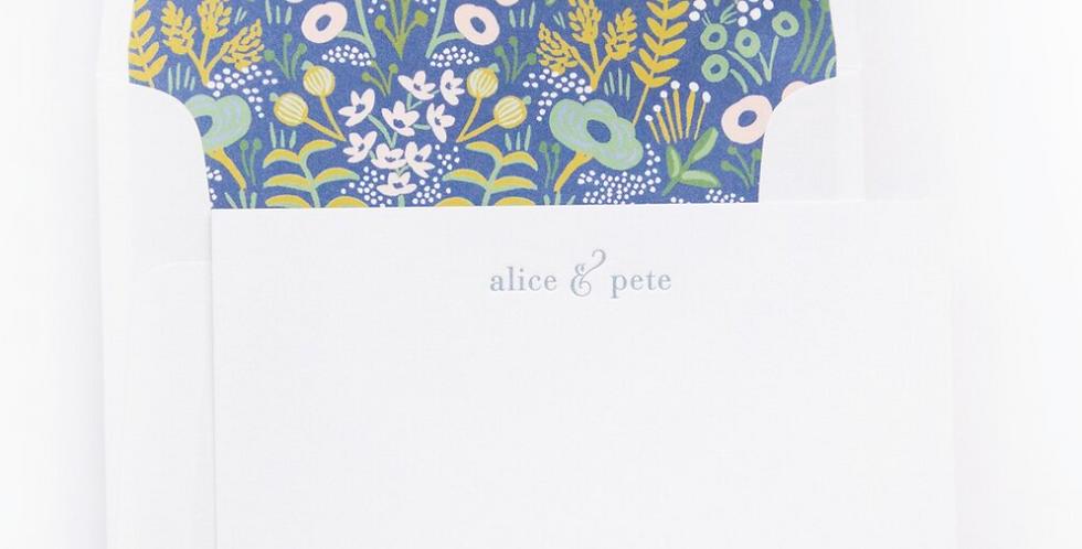 A&P Flat Print Stationery Set