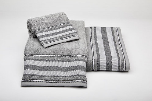 Juego de toallas 191 gris