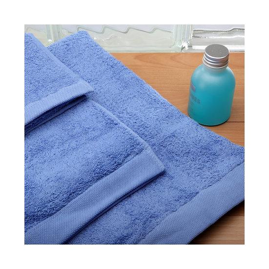 Juego de toallas 080. Azul