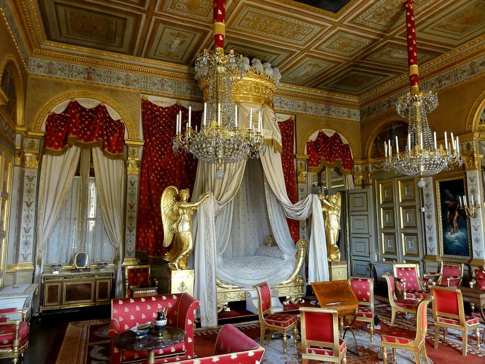 Palacio de Compiègne, habitación de la emperatriz