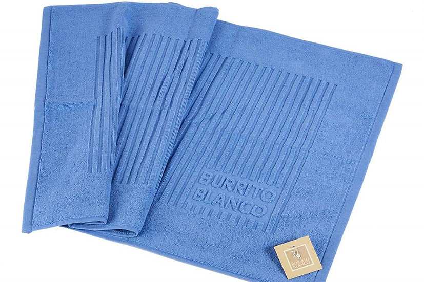 Alfombra de baño 50 Azul medio