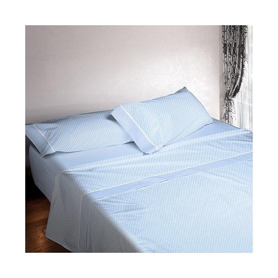 Juego de sábanas 673. Azul