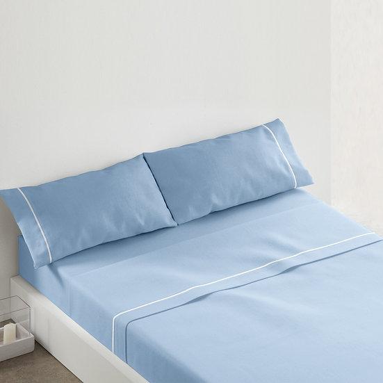 Juego de sábanas 685. Azul