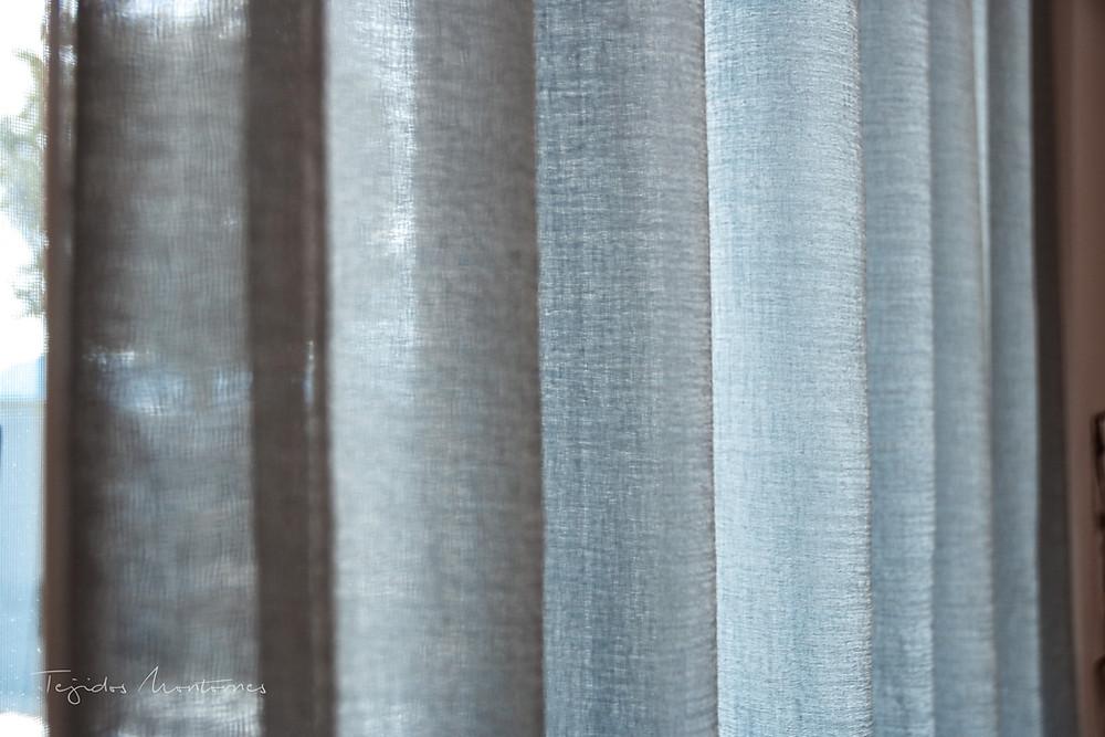 cortina rizada