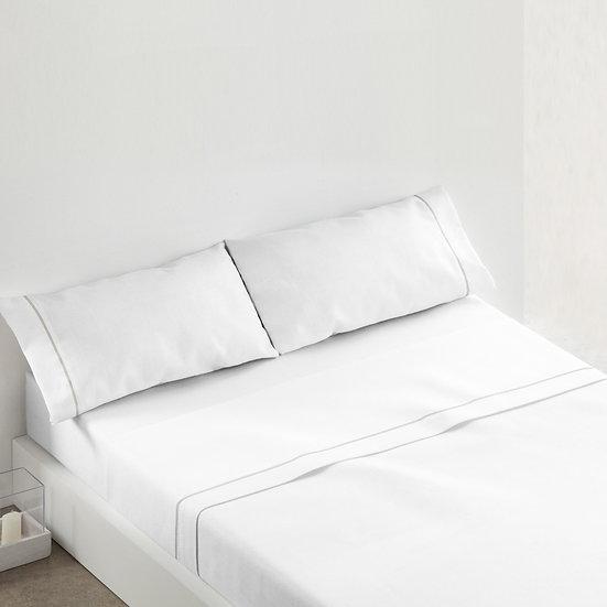 Juego de sábanas 685. Blanco