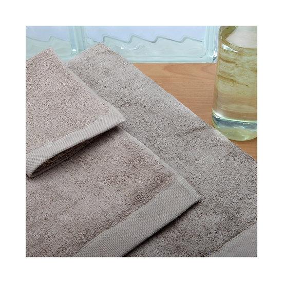 Juego de toallas 080. Piedra
