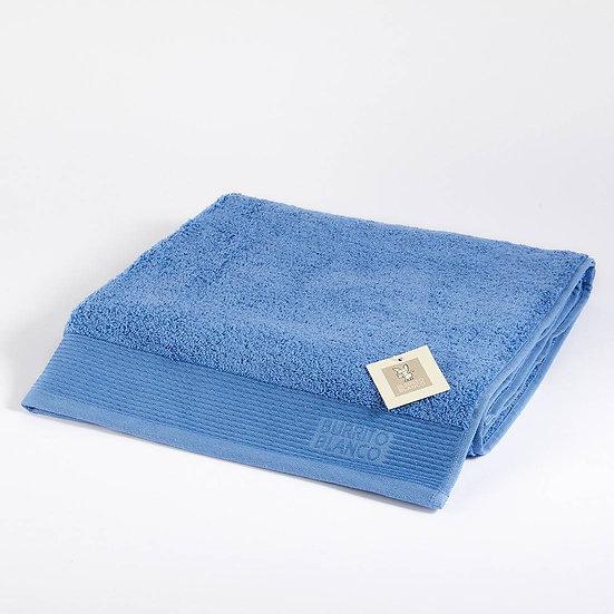 Toalla lisa suelta TO50. Azul medio