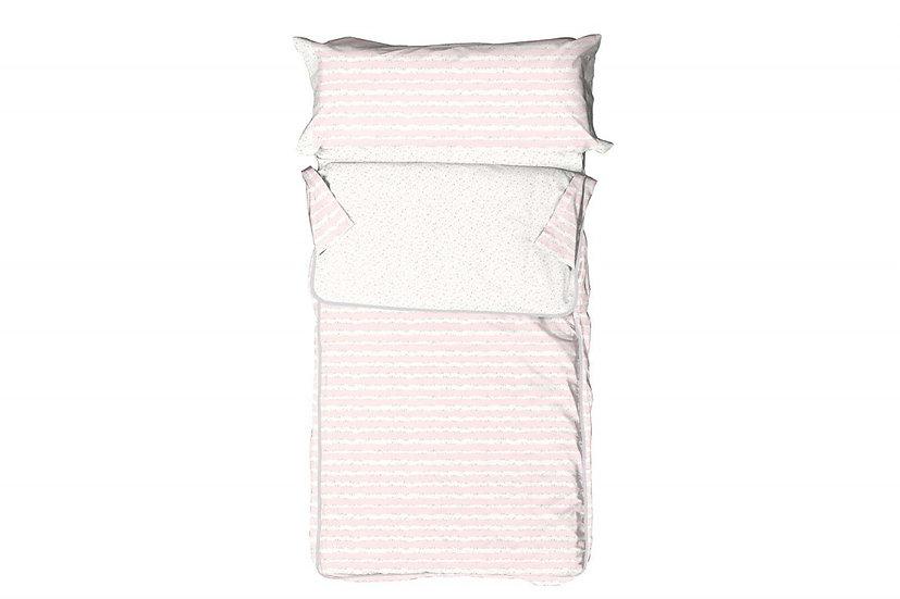 Saco Nórdico 011 rosa
