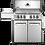 Thumbnail: Napoleon Grill, Prestige 500 RSIB 4 Burner w/ Rear & IR SB, SS - Natural Gas