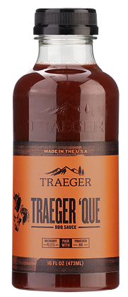 Traeger Sauce, Traeger 'Que BBQ Sauce, 16 oz
