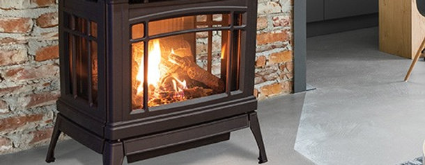 Enviro Westley, Gas Freestanding Stove, Black