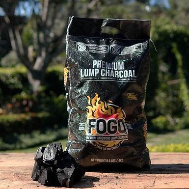 Fogo Premium Hardwood Lump Charcoal, Black 8.8 lbs.