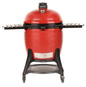 Kamado Joe, Big Joe III w/ Cart, Side Shelves, Heat Def, D & C Tools