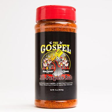 Meat Church BBQ Seasoning, The Gospel All Purpose ( 12 oz)