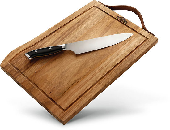Napoleon Premium Cutting Board & Knife Set