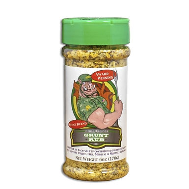Code 3 Grunt Rub, Garlic Blend, 6 oz
