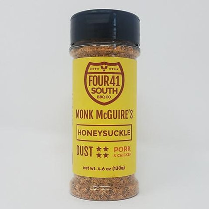 Four 41 South Rub, Monk McGuire's Honeysuckle Dust, 4.6oz