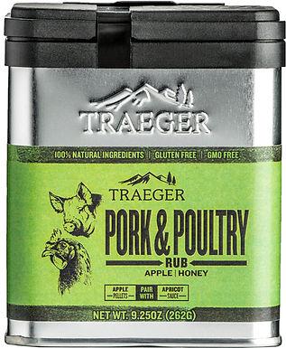 Traeger Seasoning, Pork & Poultry Rub 9.25 oz