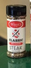 Wassi's Classic Steak Rub, 4.6 oz