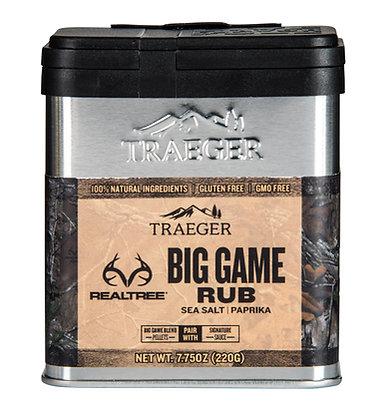 Traeger Seasoning, RealTree Big Game Rub, 7.75 oz