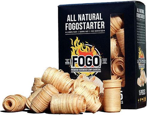 Fogo Natural Firestarters, (Box of 15)