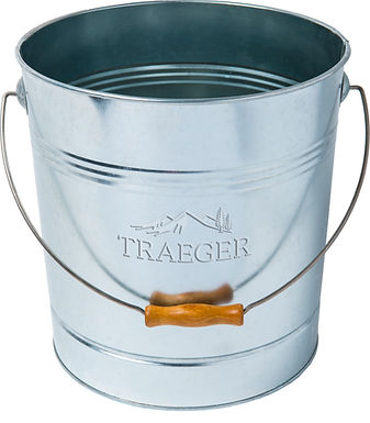 Traeger Metal Pellet Storage Bucket, 20 lb