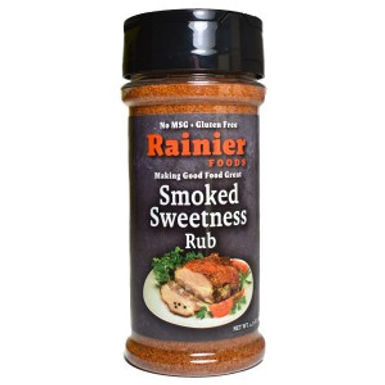 Rainier Smoked Sweetness Rub, 4.75 oz