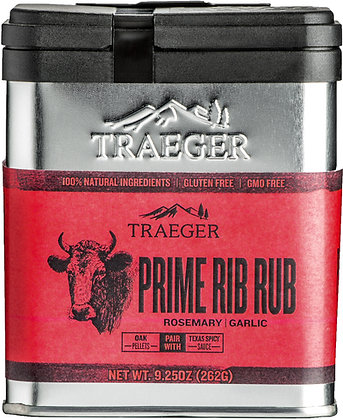 Traeger Seasoning, Prime Rib Rub, 9.25 oz