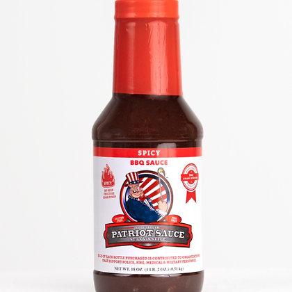 Code 3 Patriot Sauce 21 oz, Spicy