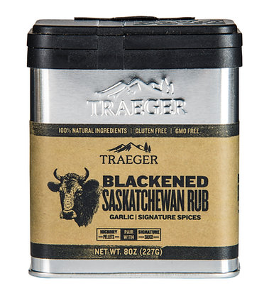 Traeger Seasoning, Blackened Saskatchewan Rub, 8 oz