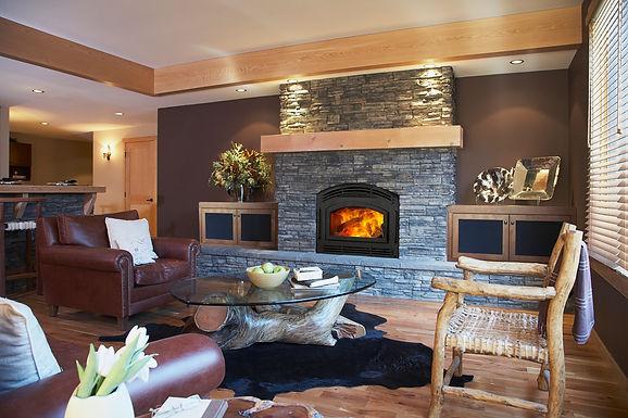 Quadra-Fire Pioneer II Wood Fireplace