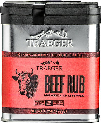 Traeger Seasoning, Beef Rub, 8.25 oz