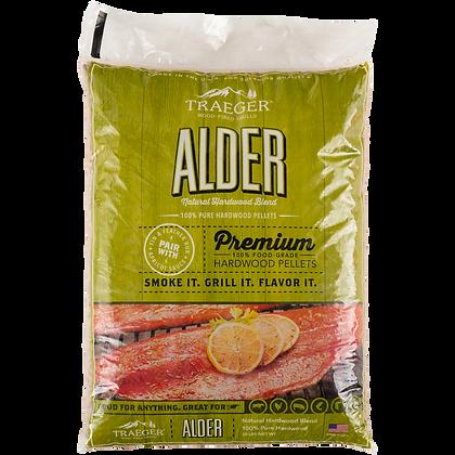 Traeger Pellets, Alder, 20 lbs