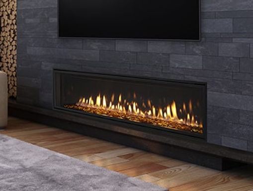 Heatilator Fireplace, Crave 48, DV Gas Fireplace