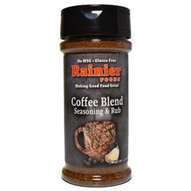 Rainier Coffee Blend Seasoning & Rub, 5.5 oz