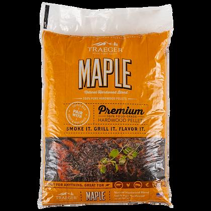 Traeger Pellets, Maple, 20 lbs