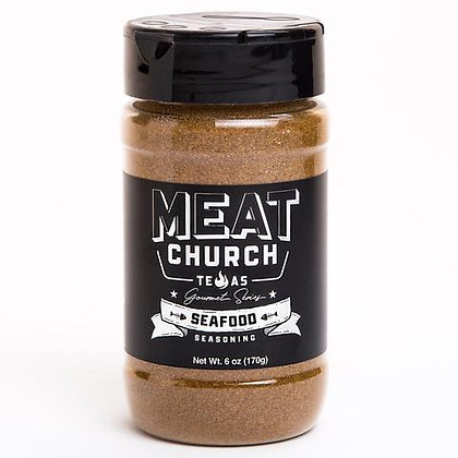 Meat Church BBQ Seasoning, Gourmet Seafood (6 oz)