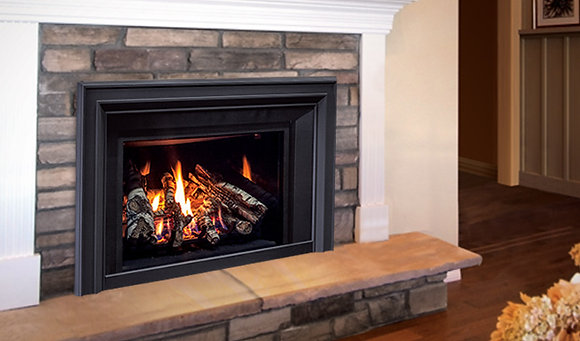 Enviro E30S2 Gas Insert, Logs - Traditional or Birchwood Logs
