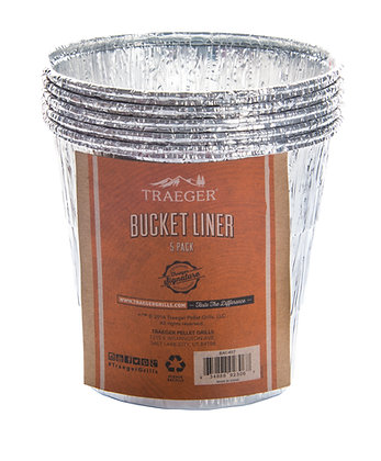 Traeger Bucket Liner ( 5 pk)
